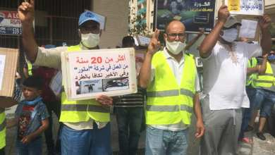 "Photo of عمال ""أمانور"" وعائلاتهم في اعتصام مفتوح بدون عيد الأضحى"