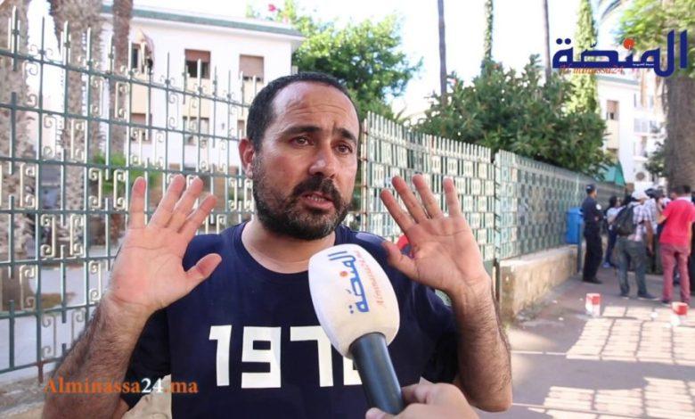 لجنة التضامن مع الريسوني تدين انتهاك السلطات لحقوق الصحفي المعتقل