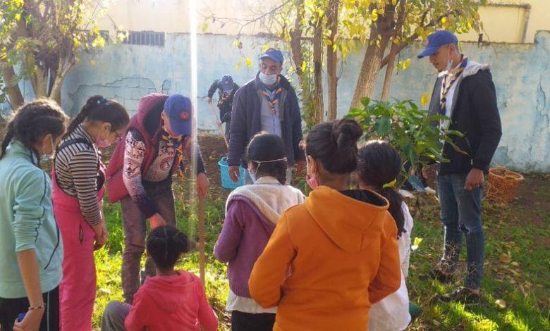 Photo of منظمة الكشاف بفاس تربي الناشئة على صداقة البيئة