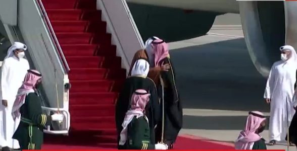 Photo of عناق سعودي قطري بعد الأزمة التي تجاوزت ثلاث سنوات