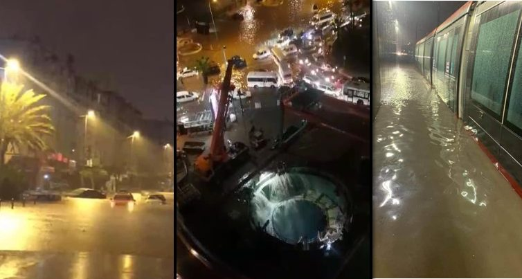 """Photo of أمطار الخير تفضح من جديد فساد التدبير المحلي بالبيضاء والمواطنون يطالبون بطرد """"ليديك"""""""