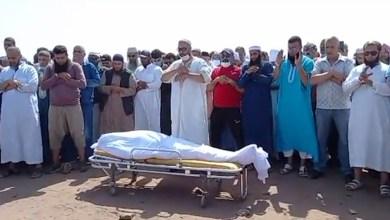 مشاهد من جنازة الشيخ أبو النعيم وحشود كبيرة لحظة الدفن