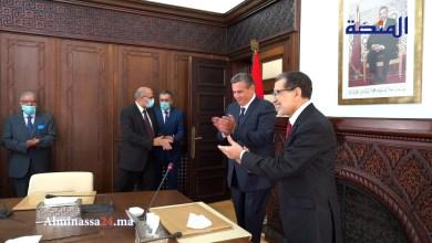 أخنوش يودع العثماني و يصفه بالصديق العزيز و المحترم (فيديو)