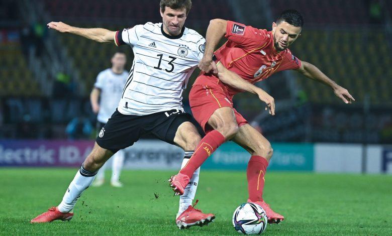 منتخب ألمانيا أول الواصلين إلى نهائيات كأس العالم 2022