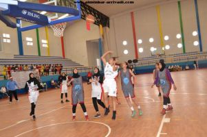 Basketball cadettes Jeux Scolaires championnat inter-ligues Tiznit 17-03-2017_16