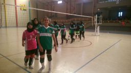 Sport scolaire Mouloudia Tiznit volleyball - Marrakech 24-03-2017