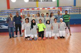 Handball Feminin Amal Tiznit - iitihad Nadi Roudani 20-05-2017