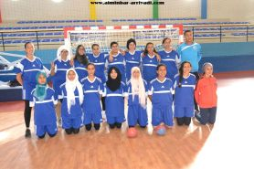 Handball Feminin ittihad Ait Melloul - ittihad Baamrani 20-05-2017_03