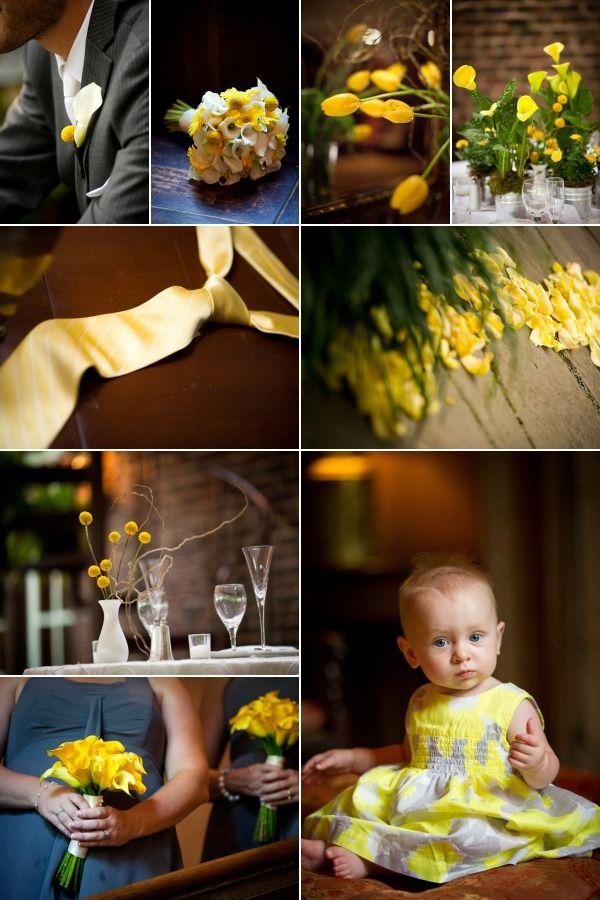 nunta in galben