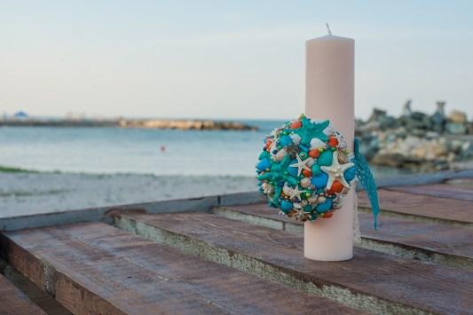 lumanare botez tematica marina