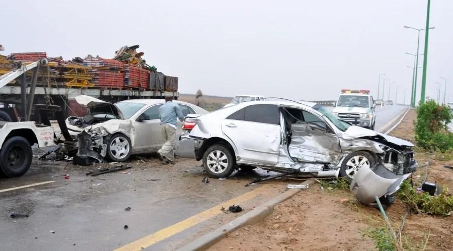 هذه أكثر المدن السعودية التي تقع فيها حوادث مرورية