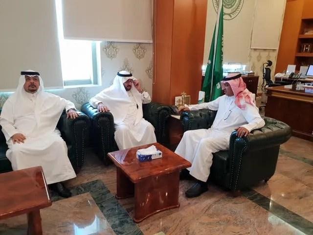 محافظ ينبع ألتقى معالي مدير جامعة طيبه صحيفة المناطق