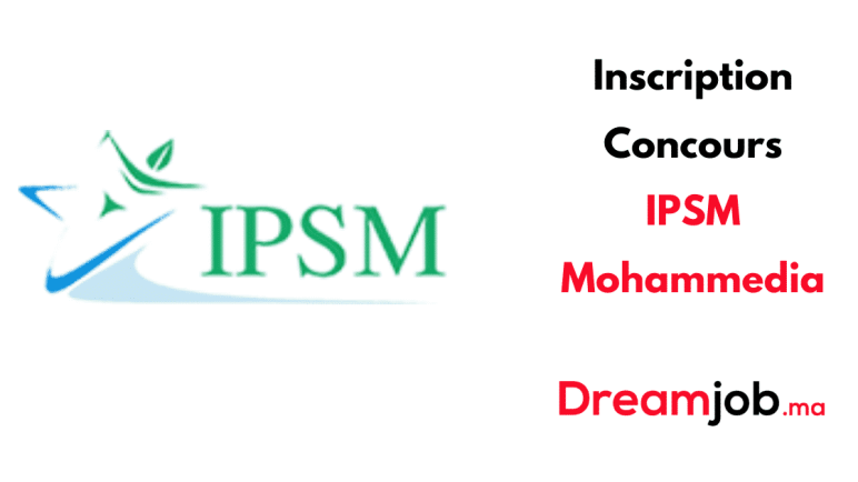 Inscription Concours IPSM Mohammedia 2021/2022