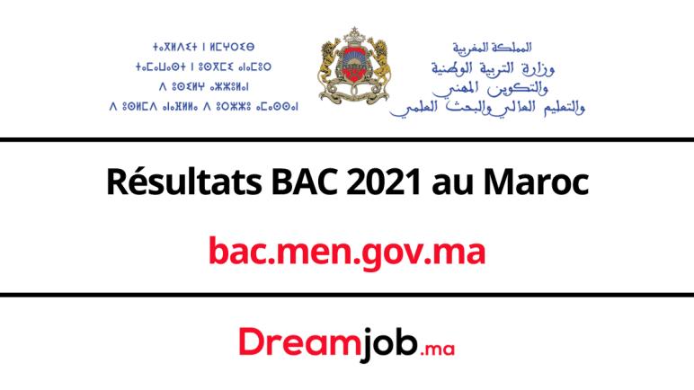 bac.men.gov.ma | Résultats BAC 2021 au Maroc