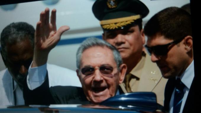 Raúl Castro llega a República Dominicana para asistir a la V Cumbre de la CELAC