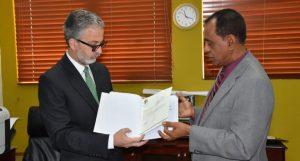 PRD entrega a la JCE el informe financiero del primer semestre 2018