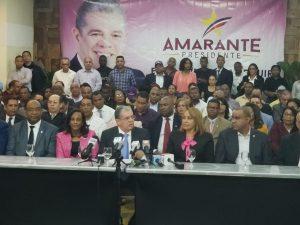 Amarante demanda que Leonel tome licencia como presidente del PLD