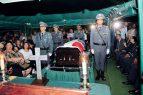 Sepultan restos del coronel asesinado en Baní por supuestos microtraficantes