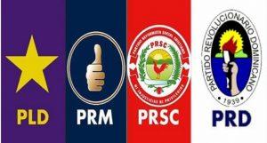 El PLD, PRM y el PRSC ocuparan 3 primeros puestos boleta electoral