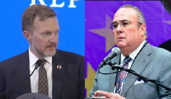 PLD fustiga acuerdo entre Presidente Abinader y Encargado Negocios E.U.