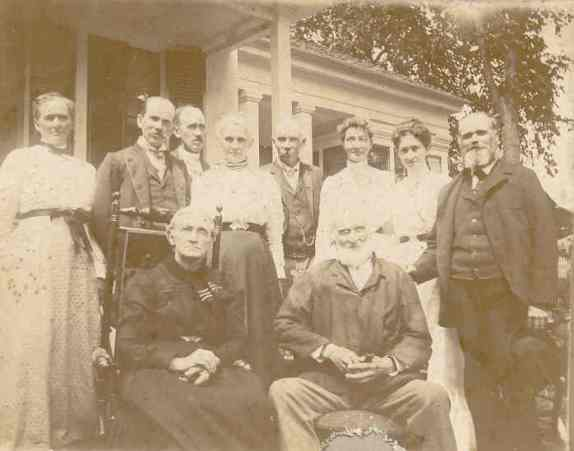 Makely Family Reunion July 15, 1900