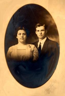 Nellie and Arthur Bean