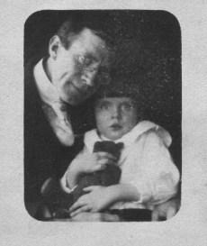 6. Elmer LeRoy McIntosh (my Grandfather), holding Ada, (my Mother)