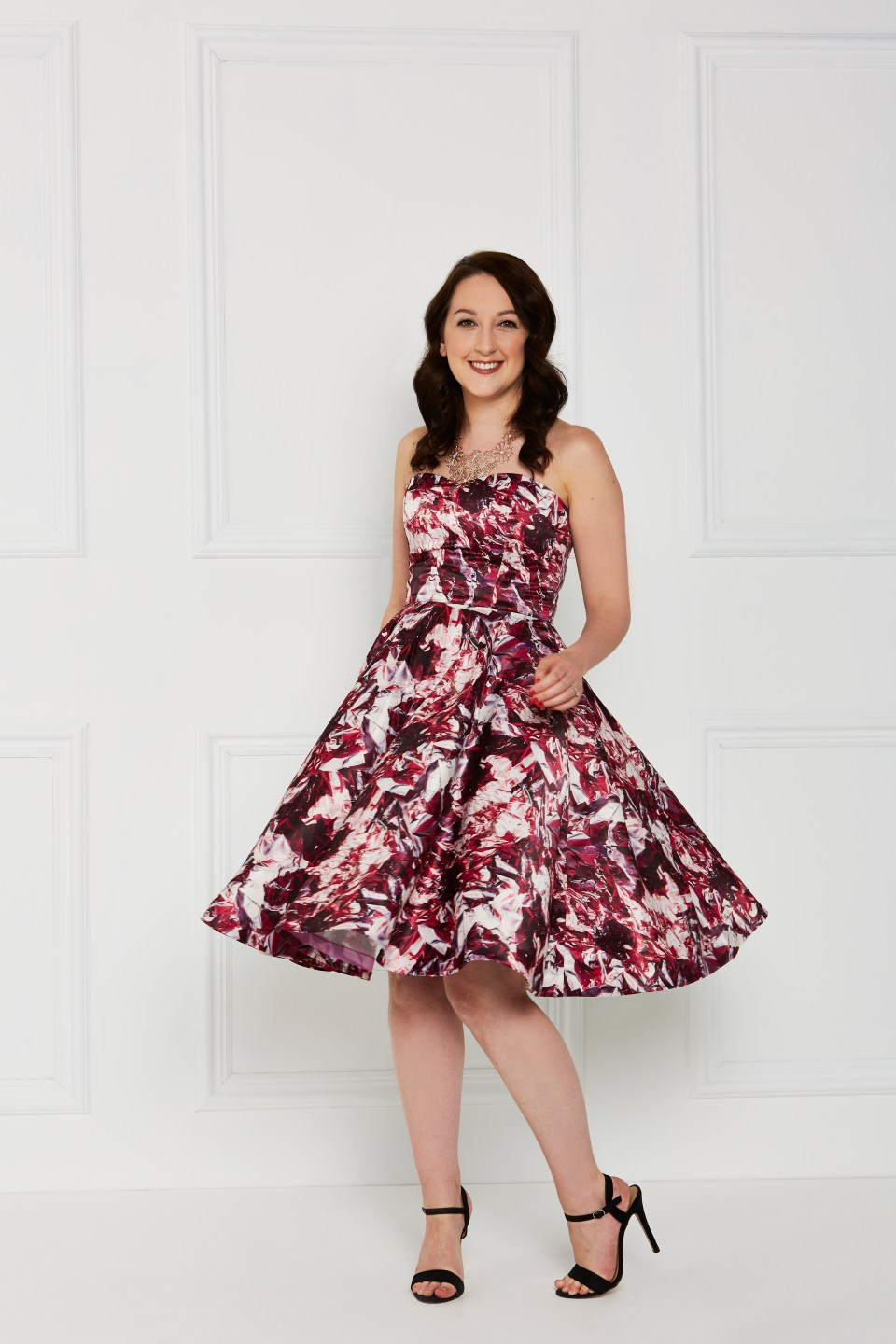 Almond Rock Dressmaker's ball simplicity 1606