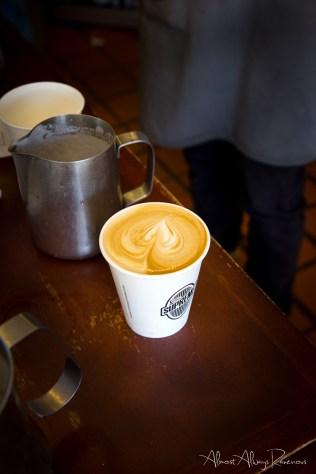 The Larder - latte