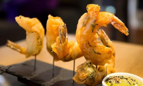 Circa Prince - shiso prawns