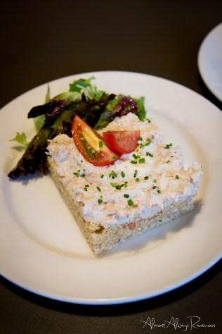 La Cassolette - crab salad on quinoa