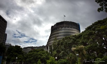 Wellington, New Zealand - Beehive