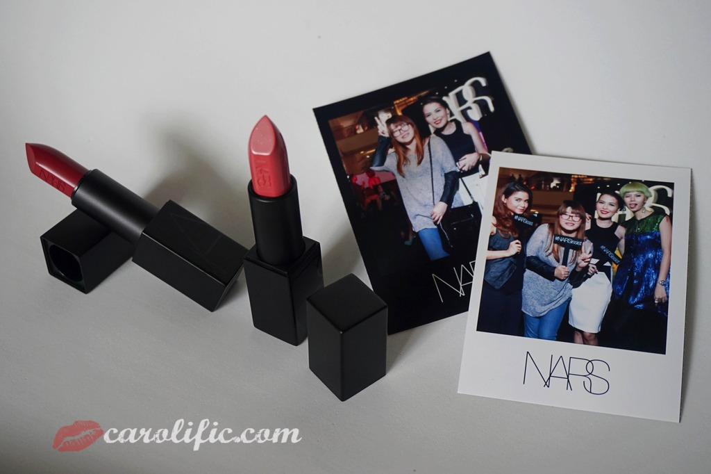 NARS, Nars KLCC, Nars Malaysia, Nars Cosmetics, Nars Makeup, Nars Event, Audrey, Brigitte, Audacious Lipsticks, Swatches, Makeup, Beauty, Diplomat's Wife, Events,