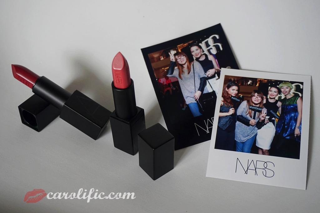 NARS, Nars KLCC, Nars Malaysia, Nars Cosmetics, Nars Makeup, Nars Event, Audrey, Brigitte, Audacious Lipsticks, Swatches, Makeup, Beauty, Diplomat's Wife, Events,