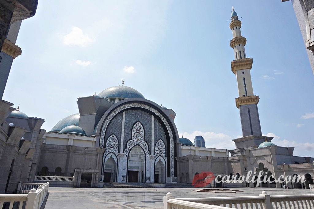 Masjid Wilayah, Federal Territory Mosque, Kuala Lumpur, Malaysia, Mosque Tour, Visiting a Mosque, Tour Guide, Guided Tour, Mosque, Islam, Travel, Asia, Non-Touristy, Not Touristy, Locals, Things to do, Places to visit, KL,