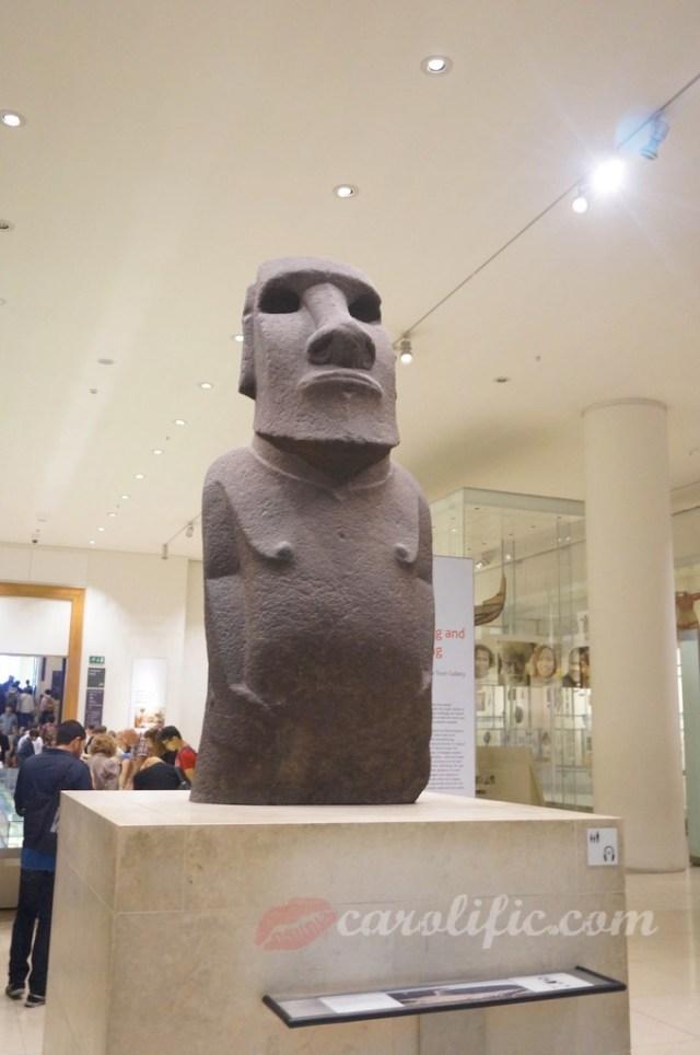 London, Travel, Europe, Britain, UK, United Kingdom, British Museum, Moai, Hoa Hakananai'a, Easter Island Statue