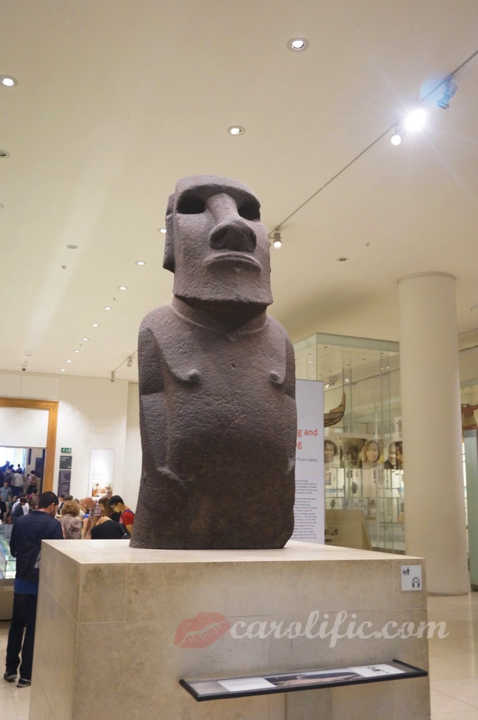 London, Travel, Europe, Britain, UK, United Kingdom, British Museum, Moai, Hoa Hakananai'a, Easter Island Statue