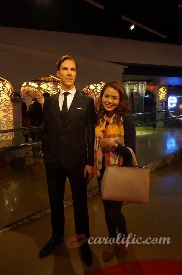 London, Travel, Europe, Britain, UK, United Kingdom, Madame Tussauds, Madame Tussauds London, Benedict Cumberbatch