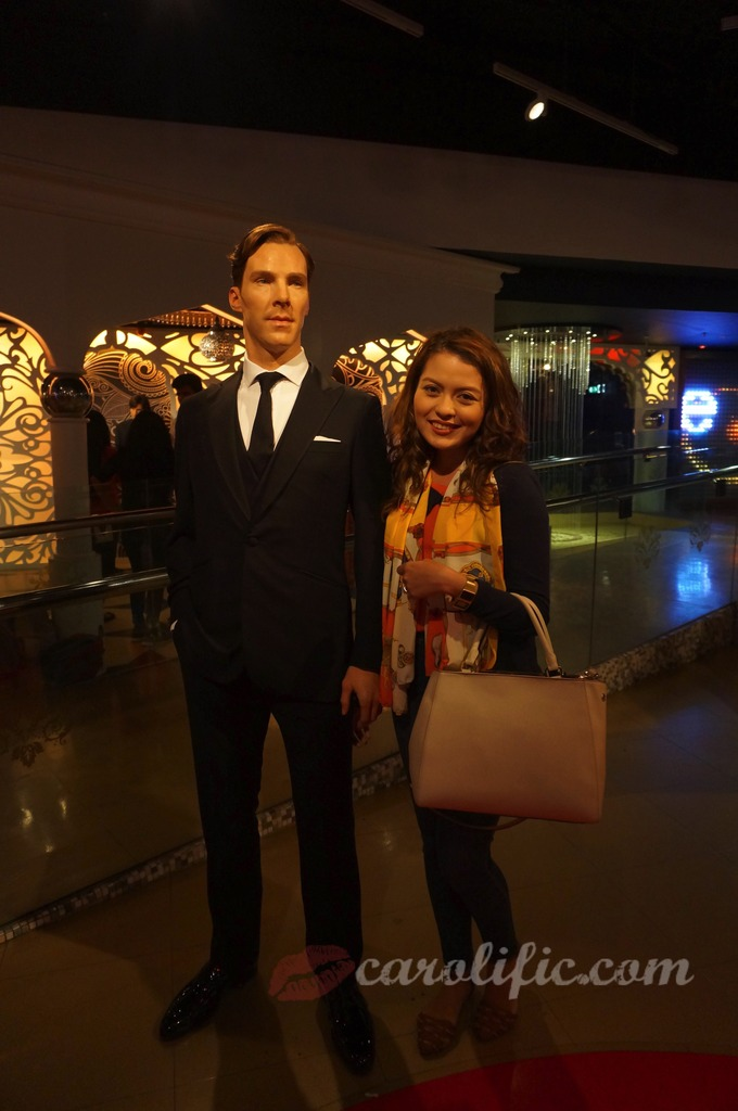 London, Travel, Europe, Britain, UK, United Kingdom, Madame Tussauds, Madame Tussauds London, Benedict Cumberbatch