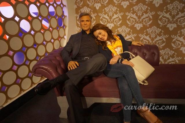 London, Travel, Europe, Britain, UK, United Kingdom, Madame Tussauds, Madame Tussauds London, George Clooney,