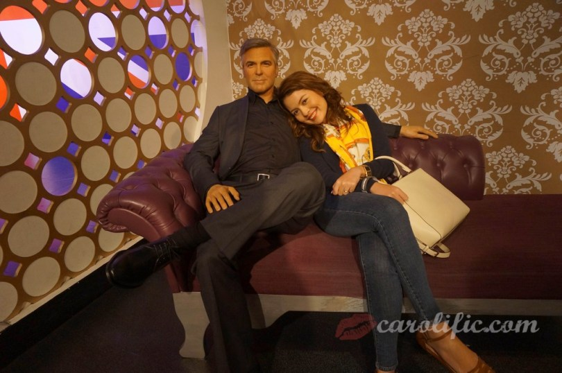 London, Travel, Europe, Britain, UK, United Kingdom, Madame Tussauds, Madame Tussauds London, George Clooney,