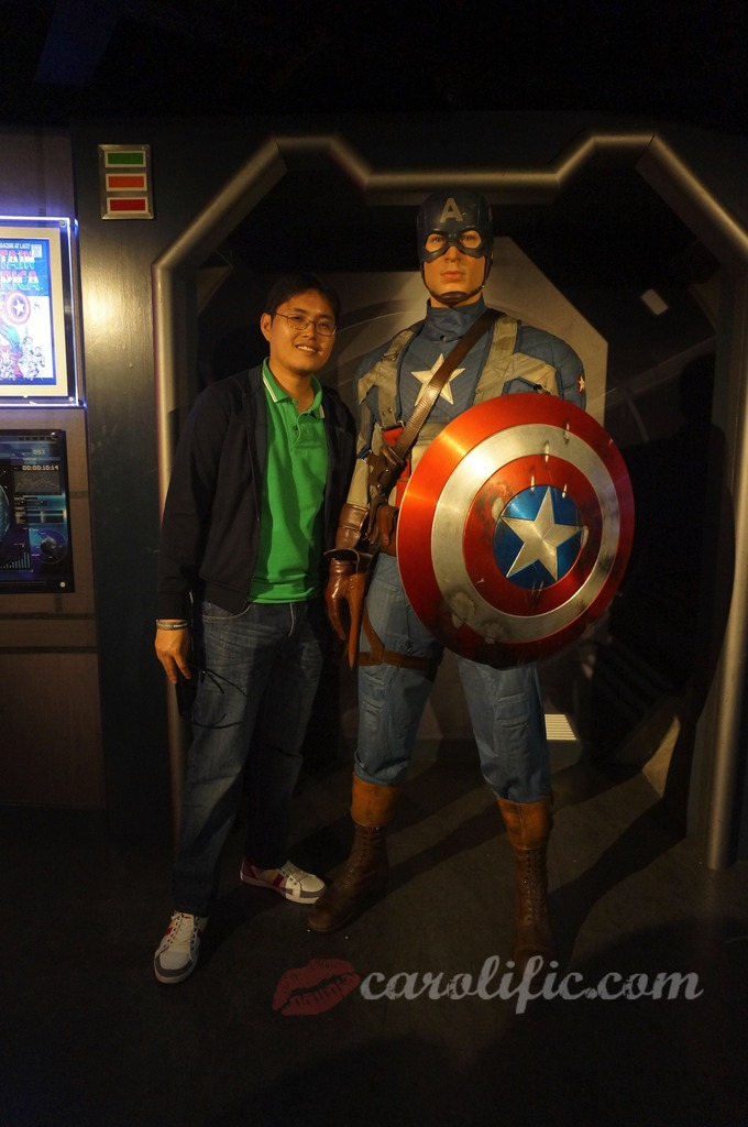London, Travel, Europe, Britain, UK, United Kingdom, Madame Tussauds, Madame Tussauds London, Captain America
