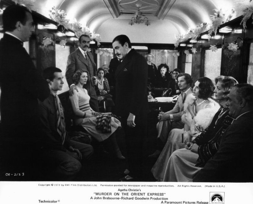 Murder on the Orient Express is one of the best films set on trains | almostginger.com