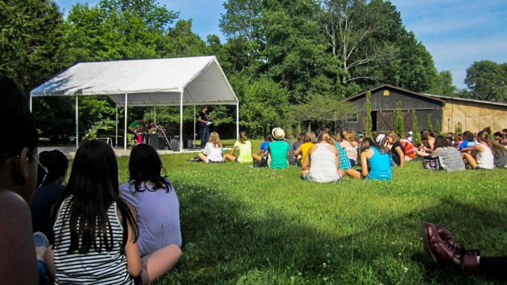 5 O'clock Special Performance at Camp Ballibay Performing Arts Camp in Pennsylvania, USA