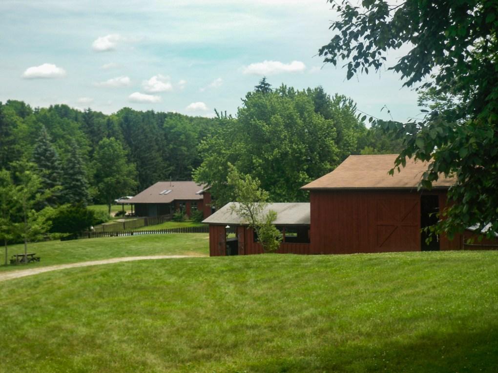 Office and Art Barn at Camp Ballibay Performing Arts Camp in Pennsylvania, USA