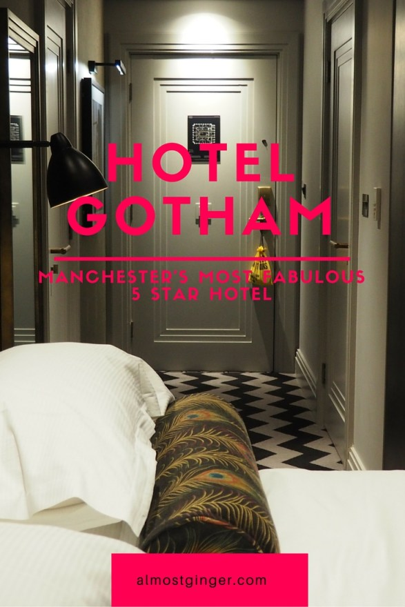 Read all about my stay in an Executive room at Hotel Gotham in Manchester - almostginger.com
