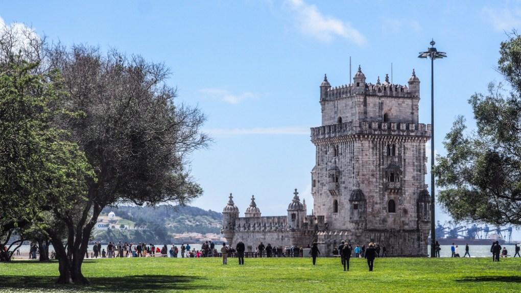 Belém Tower in Lisbon, Portugal