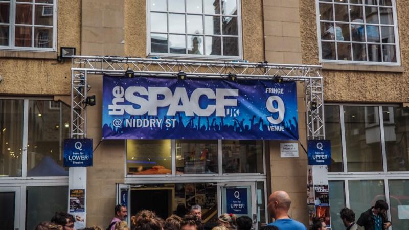 The Space Edinburgh Fringe Festival venue in Scotland, UK