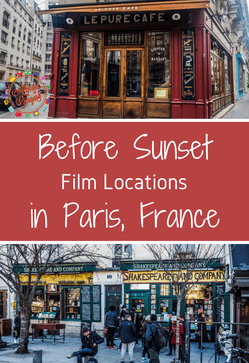 Before Sunset Filming Locations in Paris, France | almostginger.com