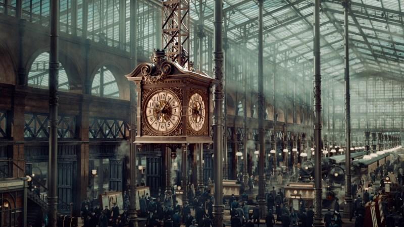 Martin Scorsese's Hugo Film Locations in Paris include the Sorbonne, Gare Montparnasse train station, Théâtre de l'Athénée-Louis-Jouvet and Bibliothèque Saint-Geneviève in Paris, France | almostginger.com